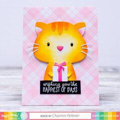 Be a Cat Card