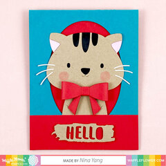 Be a Cat Card