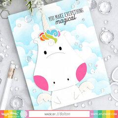 Be A Unicorn Card