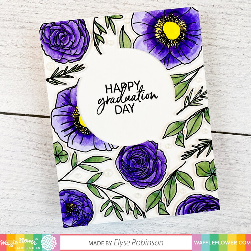 Bouquet Builder 7 Floral Card