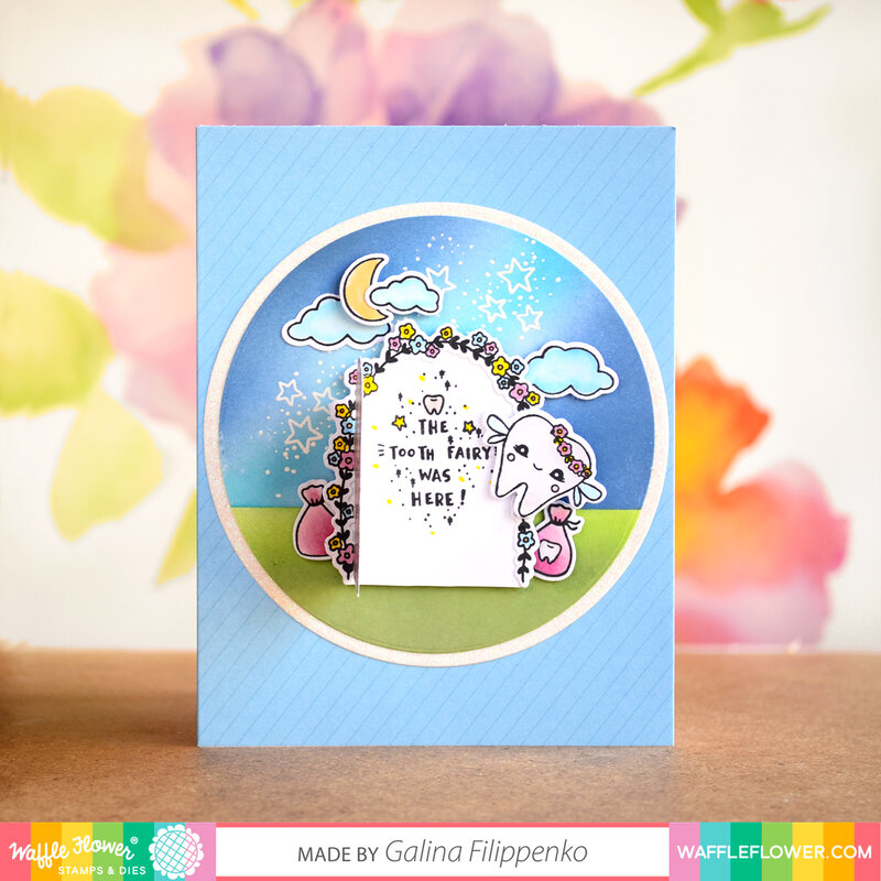 Tooth Fairy Interactive card