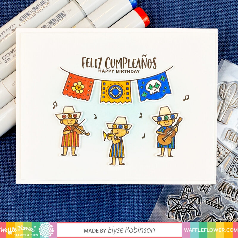Hola Mexico Birthday Card