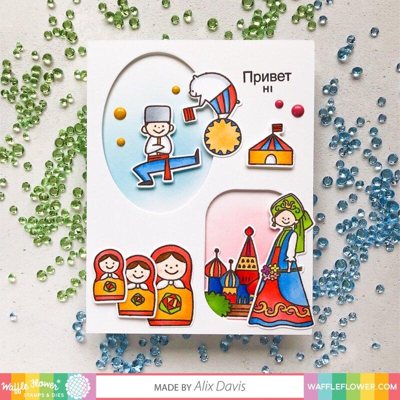 Russian Hello Card