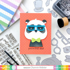 Panda Father's Day Card