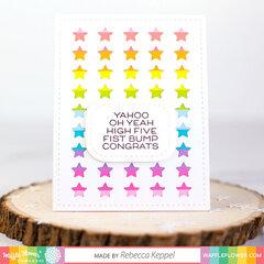 Congrats Rainbow Card