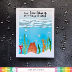 Under The Sea Panel Card