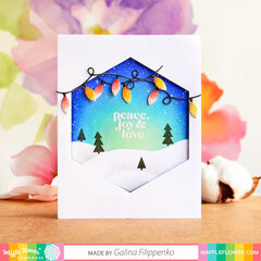 Magical Holiday Evening Card