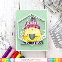 Holly Bird Card