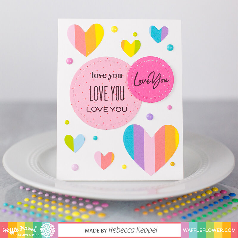 Rainbow Love You Card