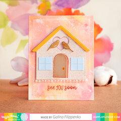House Outline Card