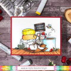 Holiday Cheese Card