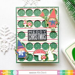 Big Dots Holiday Sentiment Stamp Cards