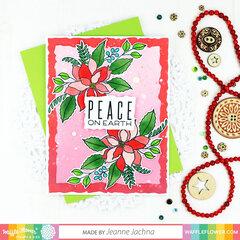 Poinsettia Holiday Card