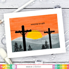 Power Lines Card