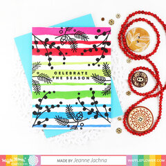 Clean and Simple One Layer Holiday Greetings