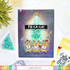 Caroling Holiday Card