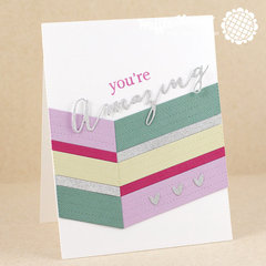 Amazing Chevron Card