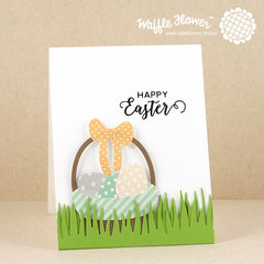 Egg Hunt Die and Chunky Grass Card