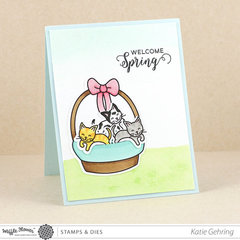 Egg Hunt and Happy Spring Card