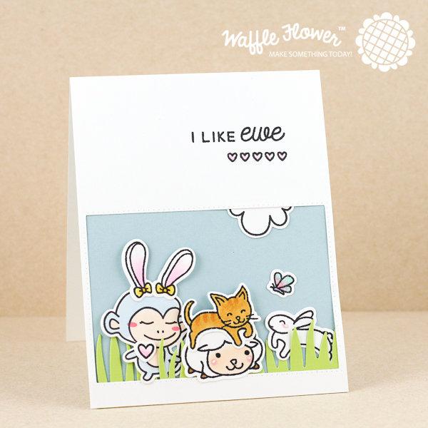 I Like You Scene Card