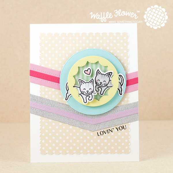 Cats Lovein' You Card