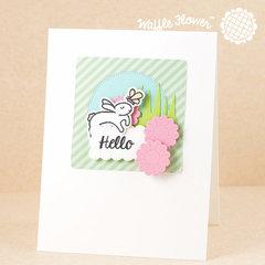 Hello Rabbit Card