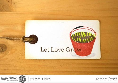 Let Love Grow Tag