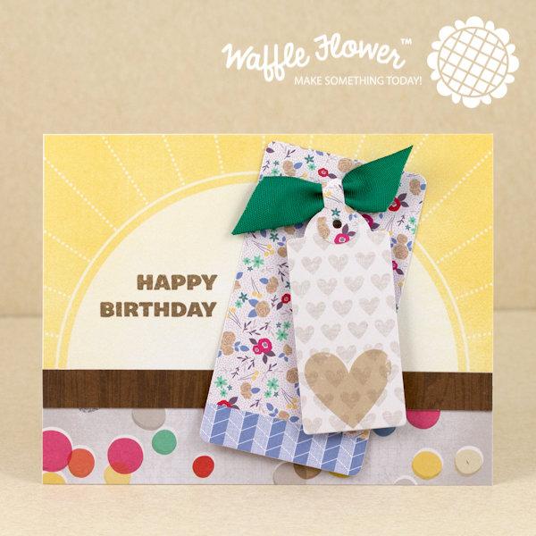 Sunshine Tag Birthday Card