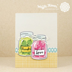 Thanks Love Good Stuff Card