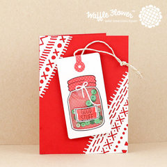 Good Stuff Christmas in a Jar Card
