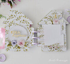 Album Stitched with love