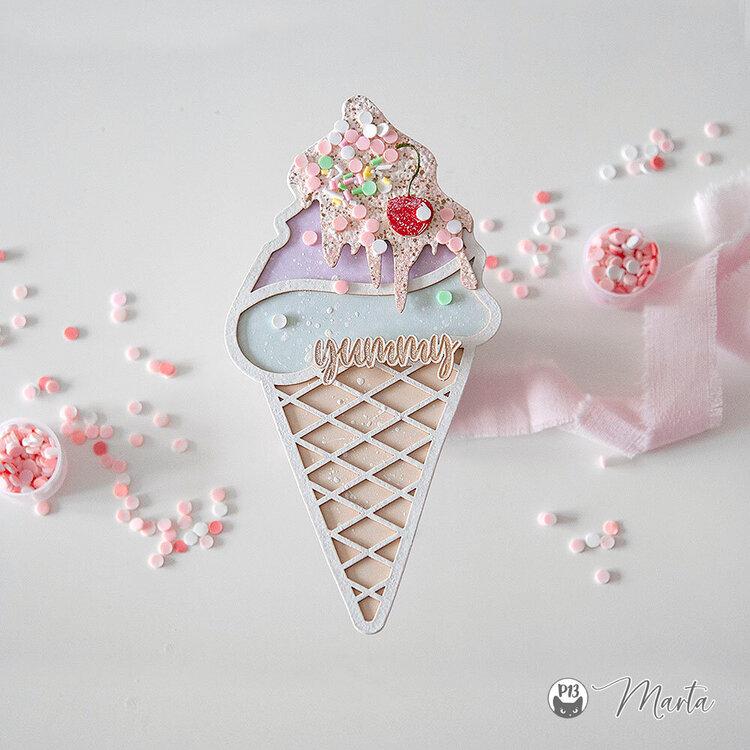 Ice-cream decor