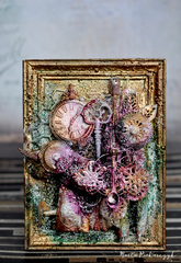 Mixed media frame