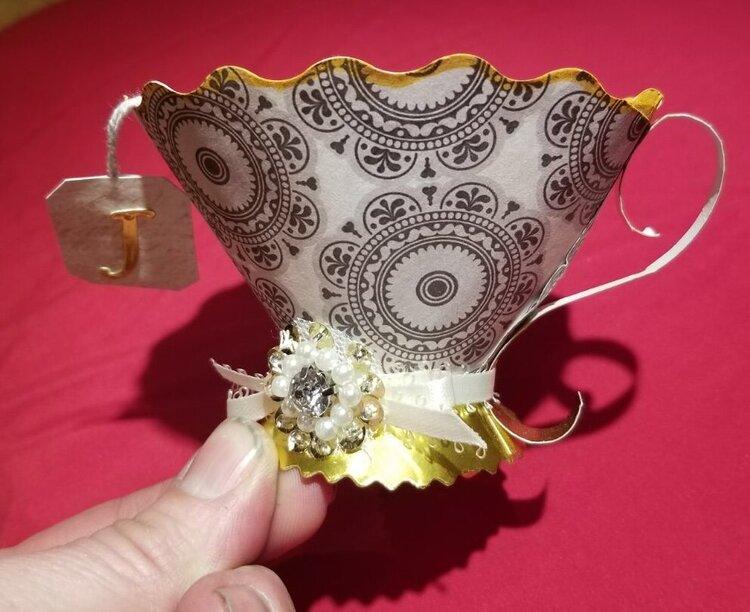 Tea cup favor