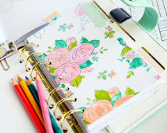 Lesson 2: DIY Planner Dividers: Coloring Book for Adults!