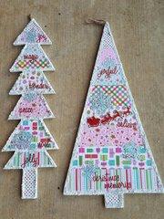 Crafting Christmas Tree Wall Hangings