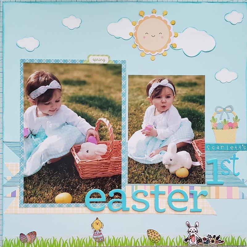 Scarlett's 1st Easter