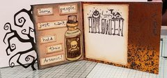 Toxique card inside