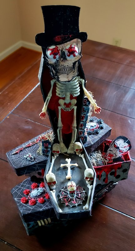 My Bloody Kill - Stacking Coffins Home Decor