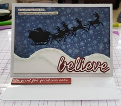 Believe Christmas Card