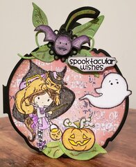 Spooktacular Wishes Halloween Card