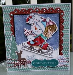 Winnie Winter Wishes Card