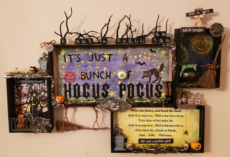 It's Just a Bunch of Hocus Pocus Wall Hanging