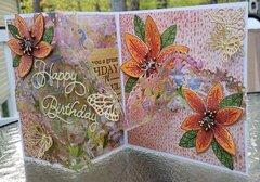 Happy Birthday Tigerlily Card