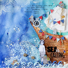 Sea is calling layout
