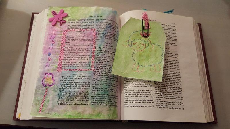 Psalm 23 tip in