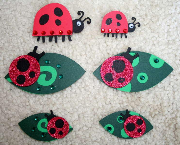 Ladybug Die Cuts