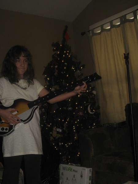 "My daughter - ""Jammin"", Christmas 2009"