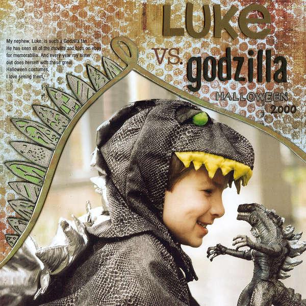 """Godzilla - """"Technique Tuesday Contest"""""""