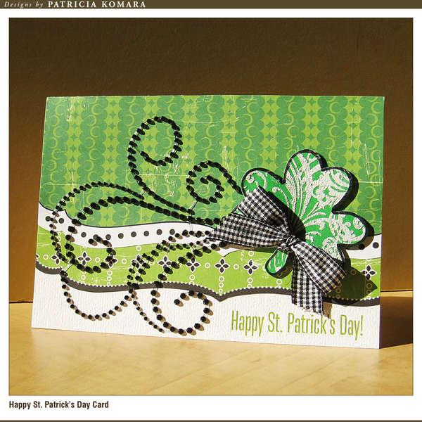 Happy St Patrick's Day Card